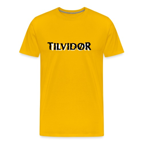 TVDteelogolightbg1 copy - Herre premium T-shirt