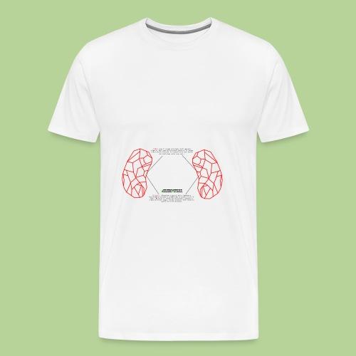 ReniRed - Maglietta Premium da uomo