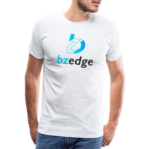 BZEdge Cutting Edge Crypto - Men's Premium T-Shirt