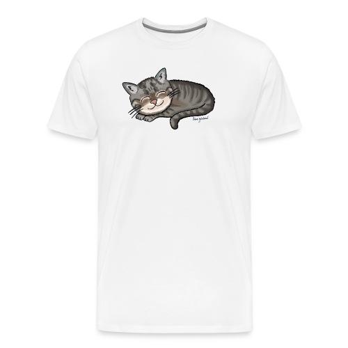 Kätzchen Lissy (sleep) - Männer Premium T-Shirt