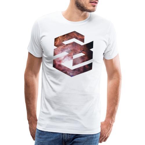 Geometische Galaxie Form - Männer Premium T-Shirt