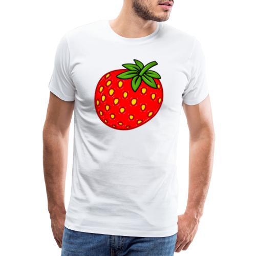 Erdbeere - Männer Premium T-Shirt