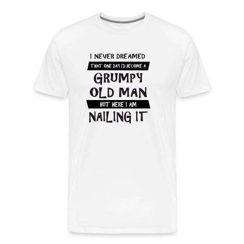 Grumpy 1 - Herre premium T-shirt