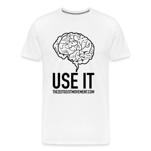 brain use it - Maglietta Premium da uomo