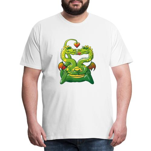 Dragons Madly in Love - Men's Premium T-Shirt