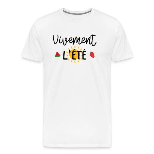 été / vacances / plage / soleil / mer - T-shirt Premium Homme