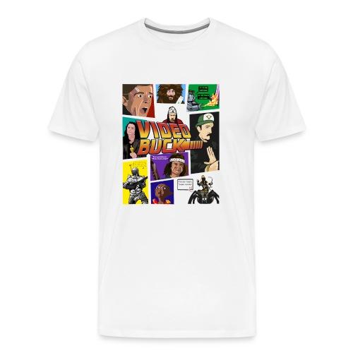 VIDEOBUCK MEMES - Camiseta premium hombre