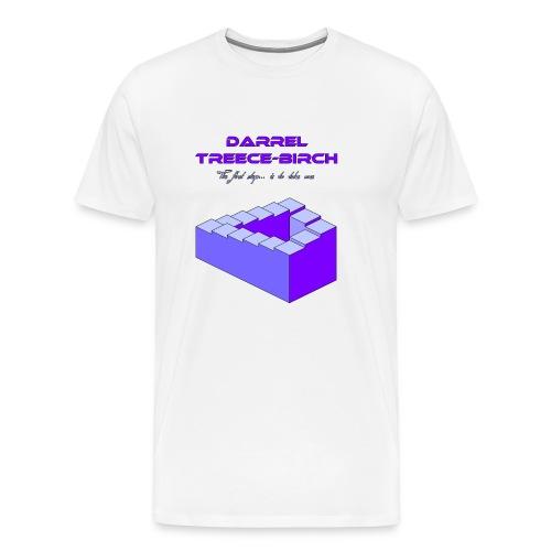 First Step Purple - Men's Premium T-Shirt