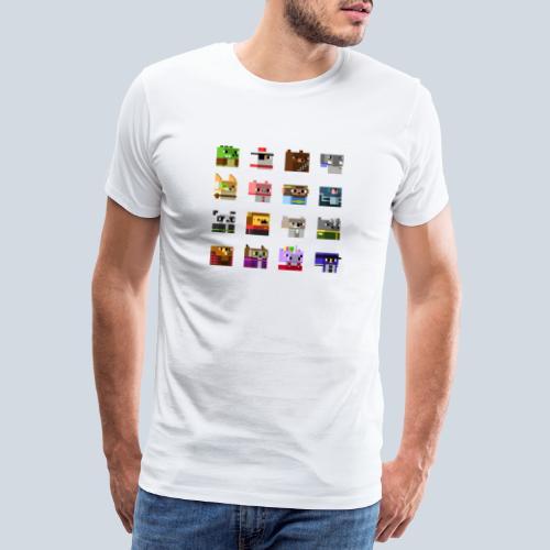 A Planet of Mine Animals - T-shirt Premium Homme