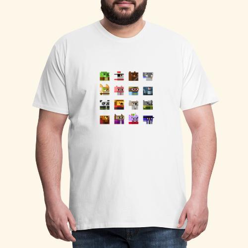 A Planet of Mine Animals - Men's Premium T-Shirt