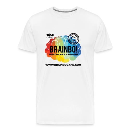 BRAINBO BLK - Men's Premium T-Shirt