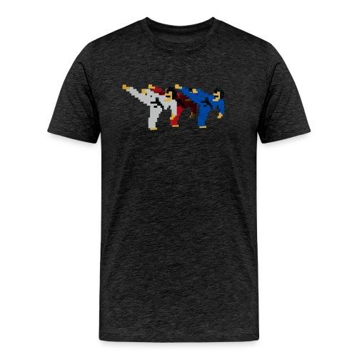 8 bit trip ninjas 2 - Men's Premium T-Shirt