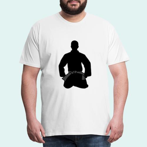 Judo Schwarzgurt - Männer Premium T-Shirt