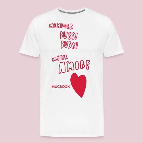 Mucbook Amore Mixen - Männer Premium T-Shirt