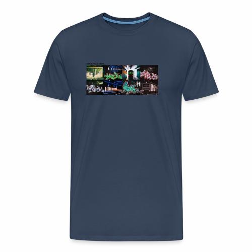 stick x4 tee 2 ver0 1 - Herre premium T-shirt