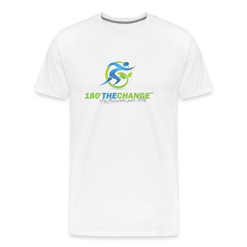 180TC Logo Hochformat - Männer Premium T-Shirt