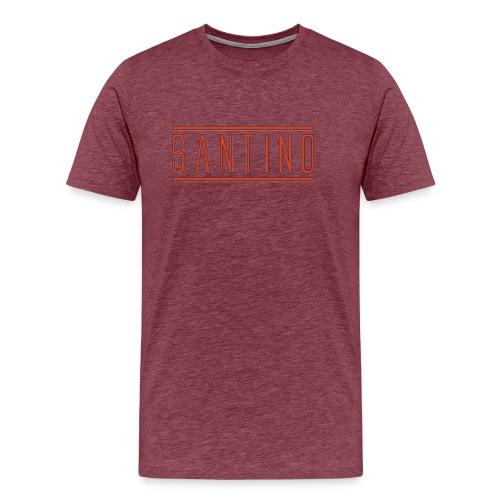orange noir - T-shirt Premium Homme