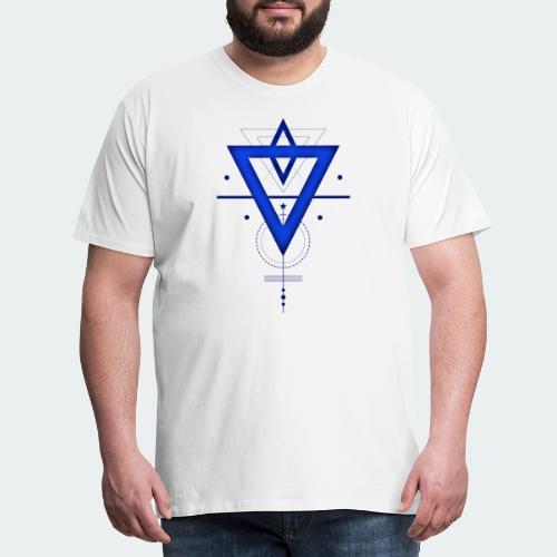 geometric design - Men's Premium T-Shirt