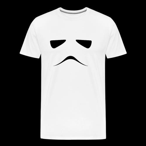 Stormtrooper Face - Men's Premium T-Shirt