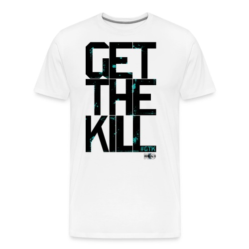 #GTK - Black - Men's Premium T-Shirt