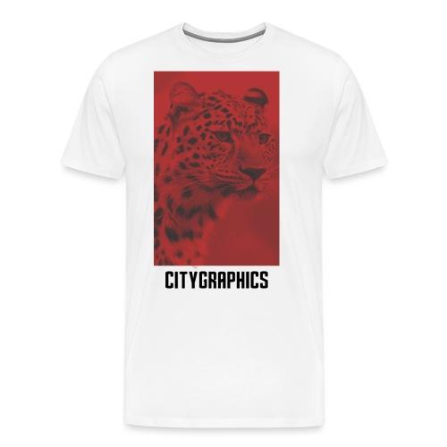 Red Leopard - Männer Premium T-Shirt