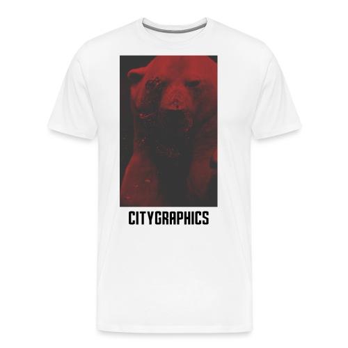 RED Eisbär - Männer Premium T-Shirt