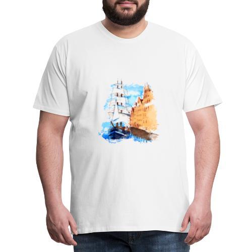 Großsegler - Männer Premium T-Shirt