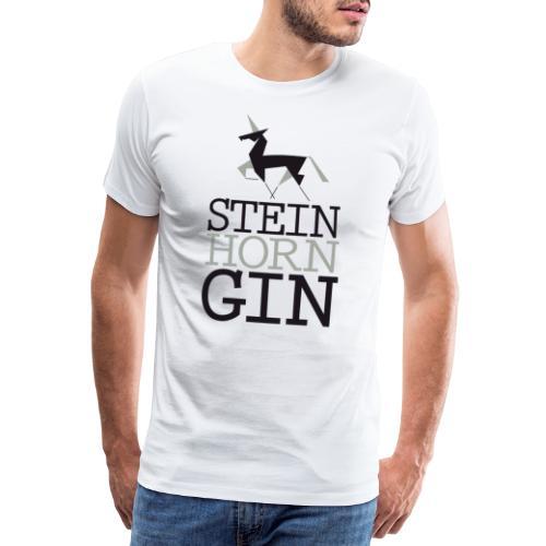 Steinhorn Gin - Männer Premium T-Shirt
