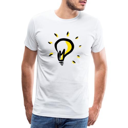 Geistesblitz - Männer Premium T-Shirt