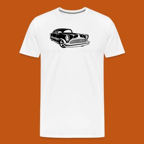 Lowrider / Oldtimer / Muscle Car 03_schwarz - Männer Premium T-Shirt