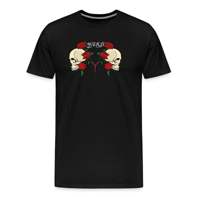 YARD skull and roses