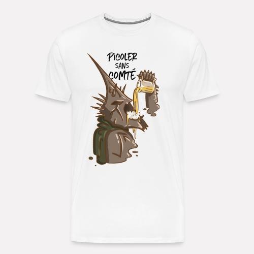 Picoler sans Comté ! - T-shirt Premium Homme
