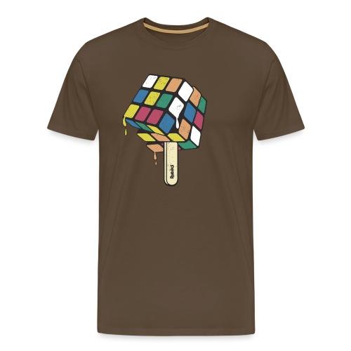 Rubik's Cube Ice Lolly - Men's Premium T-Shirt