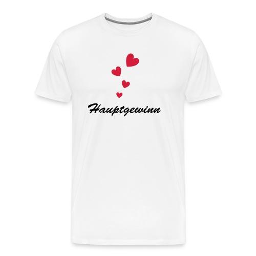 Hauptgewinn - Männer Premium T-Shirt