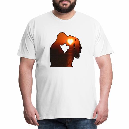 Le Couple D'amoureux - j'peux pas j'suis amoureux - T-shirt Premium Homme