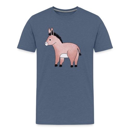 Eselchen - Männer Premium T-Shirt