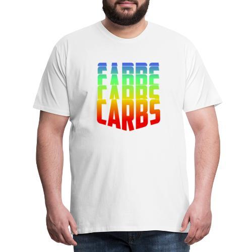 Carbs,Carbs,Carbs! - Männer Premium T-Shirt