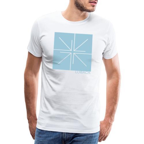 LÖBACH. Quadrat - Männer Premium T-Shirt