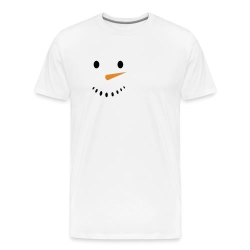 Bonhomme de neige Noël Hiver - T-shirt Premium Homme