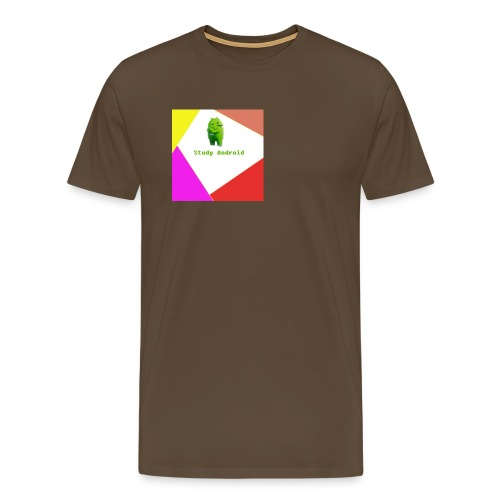 Study Android - Camiseta premium hombre