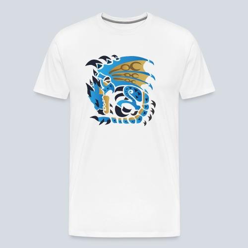 Azur Rathalos - Männer Premium T-Shirt