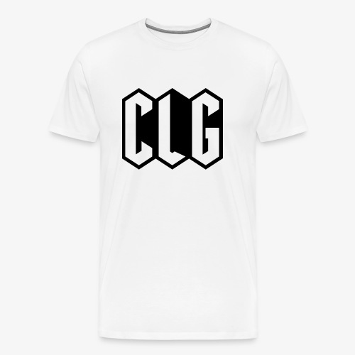 CLG DESIGN black - T-shirt Premium Homme