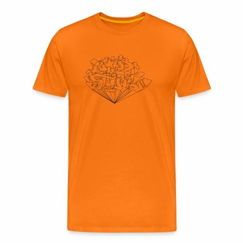wild style ver01 Trick Aod - Herre premium T-shirt