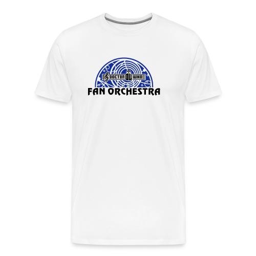 DWFO filled arc black-txt - Men's Premium T-Shirt