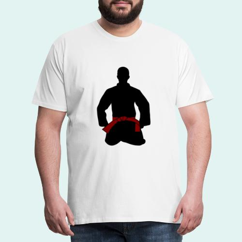 Judo Braungurt - Männer Premium T-Shirt