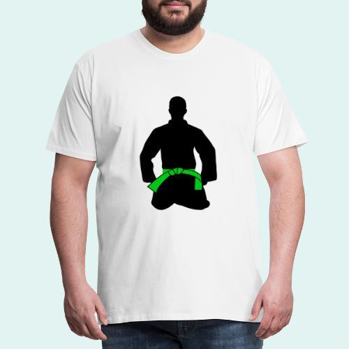 Judo Grüngurt - Männer Premium T-Shirt
