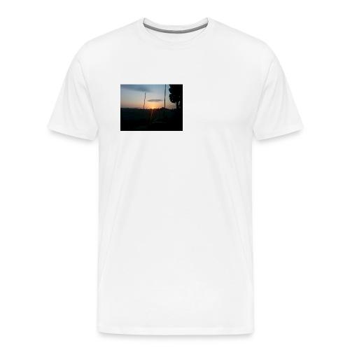 sol de noche - Camiseta premium hombre