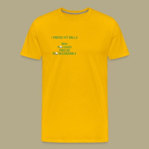 BALLS - Mannen Premium T-shirt