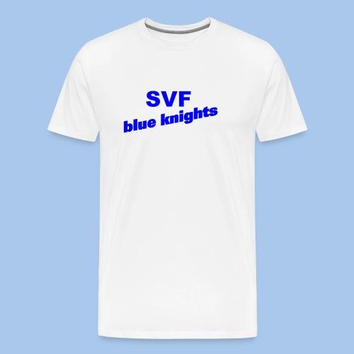 SVF-blue-knights blau - Männer Premium T-Shirt