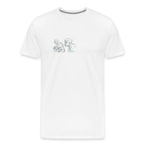Drawing_1-jpg - Men's Premium T-Shirt
